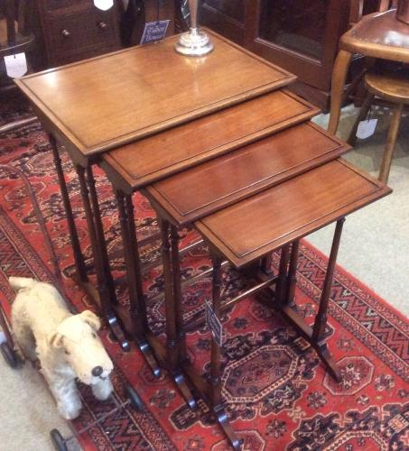 Quartetto set of Mahogany Tables