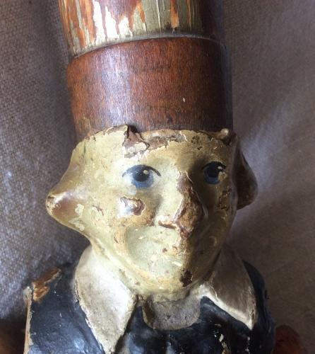 19th Century Wooden Doll