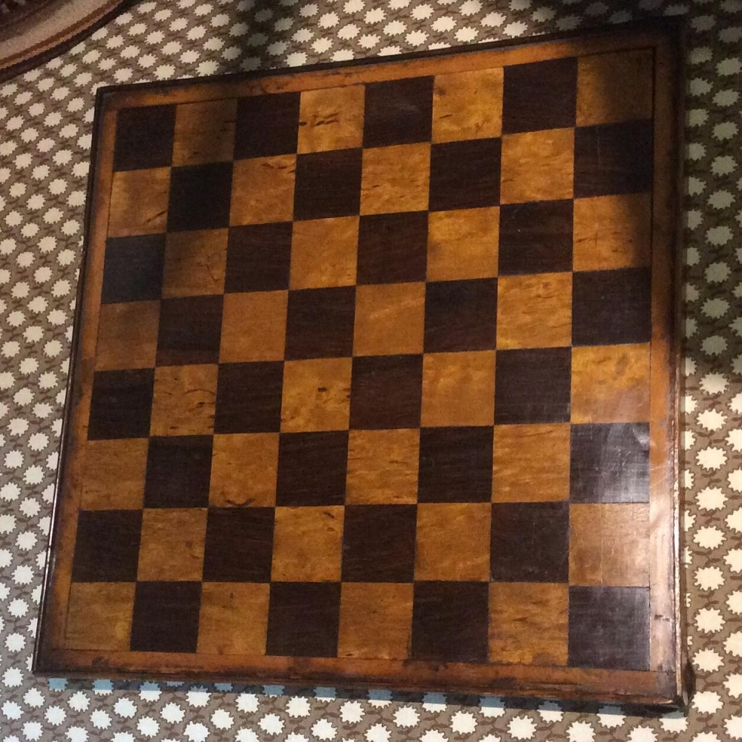 Victorian Chess Board