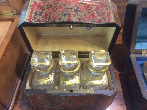 French Boulle Scent Box