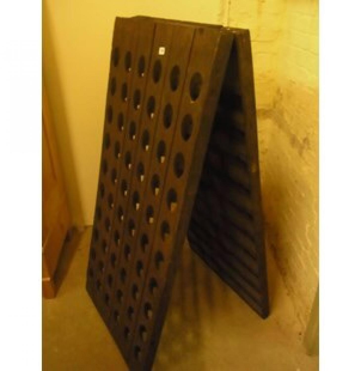 French Champagne Riddling Rack / Wine Rack