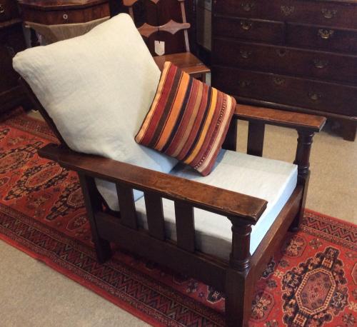 Parker Knoll 1930's reclining armchair