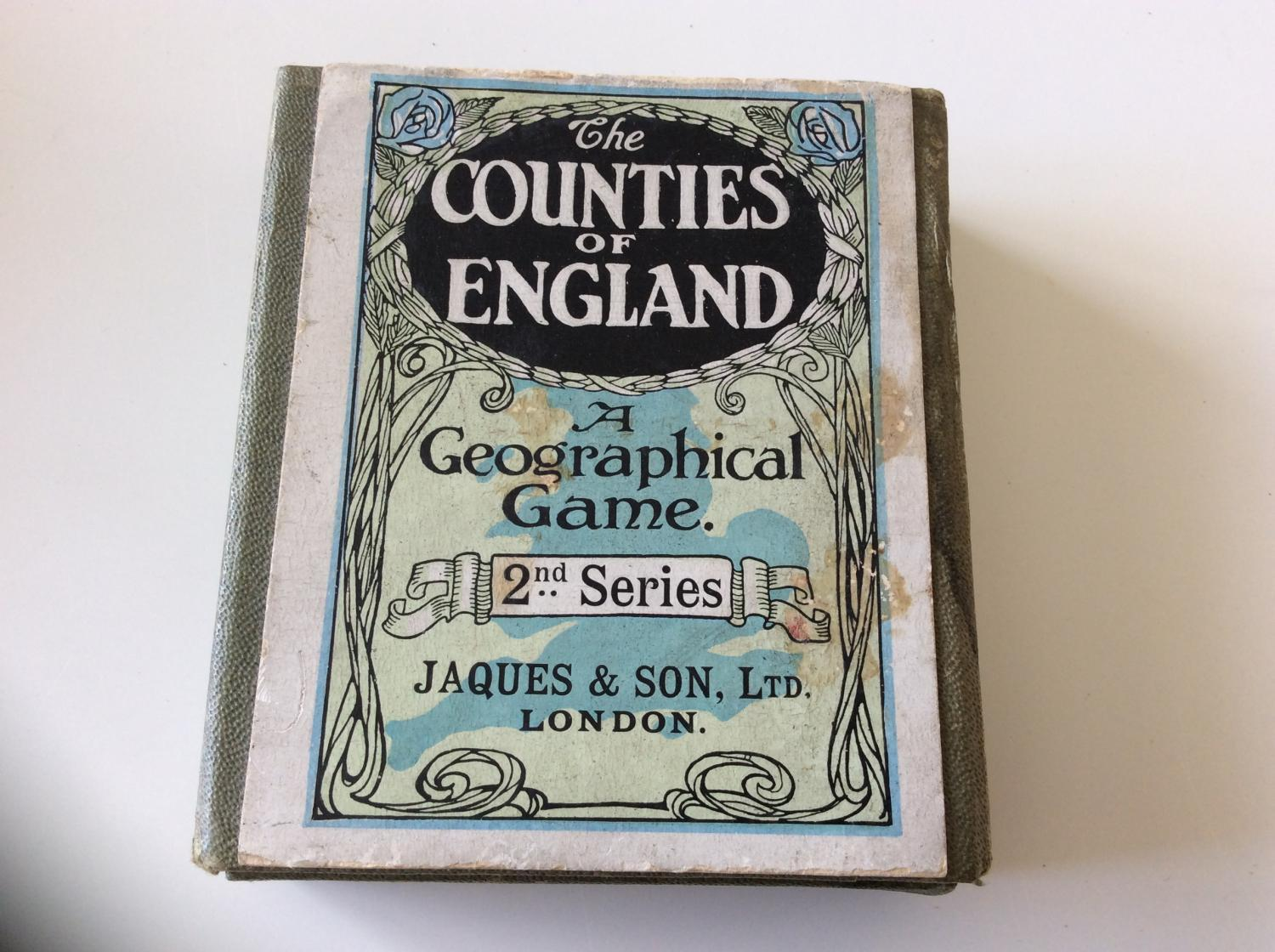 The COUNTIES OF ENGLAND  a geographical game