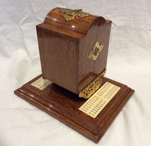 Oak Games Box by Betjeman