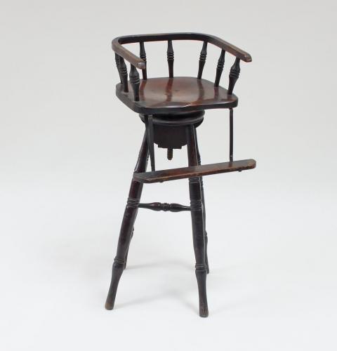 Child's barber's revolving chair