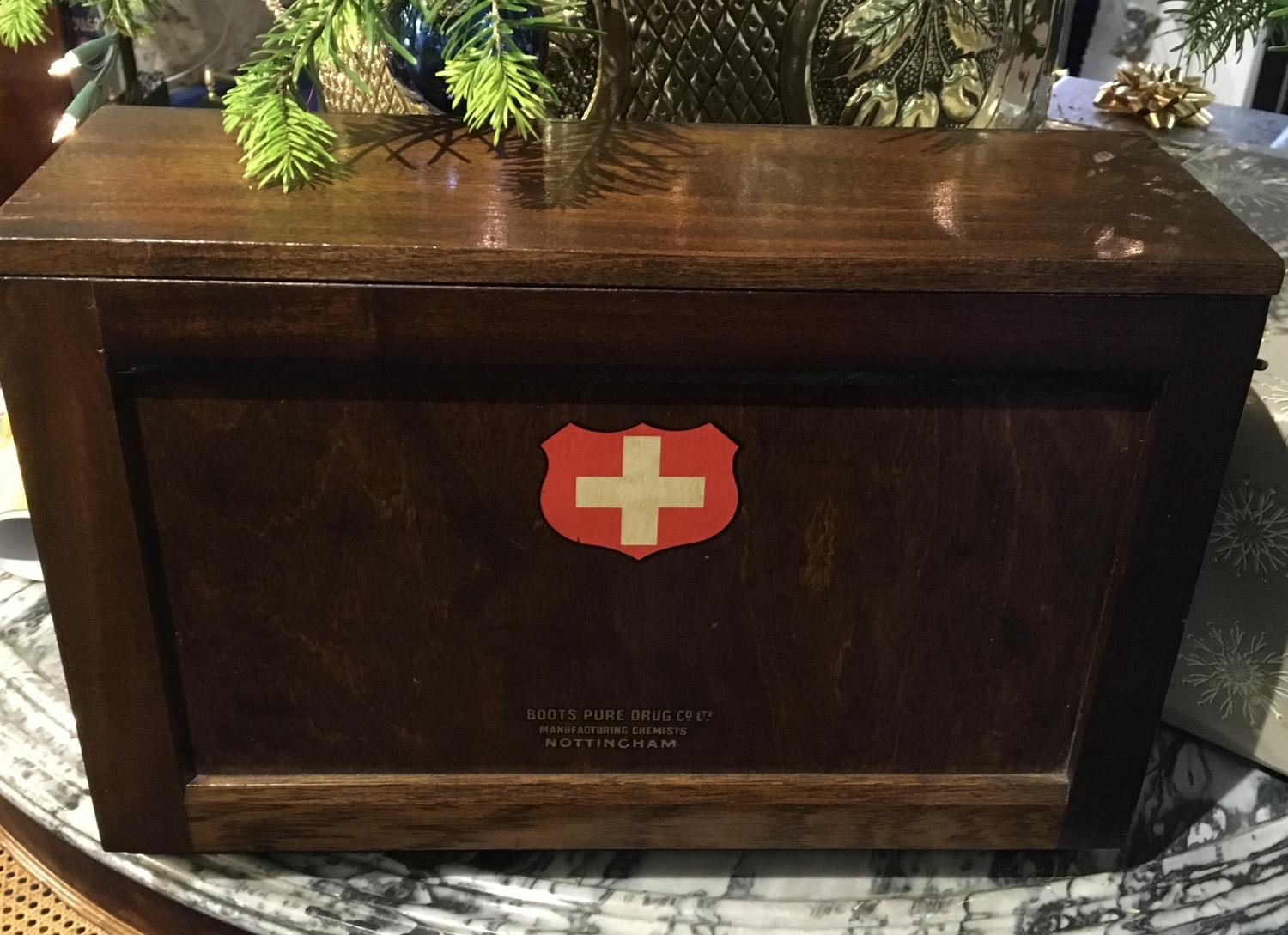 'Boots' First Aid Box