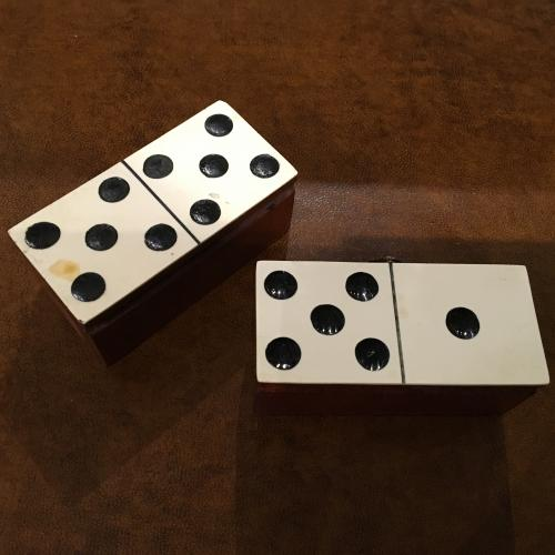 Miniature dominoes
