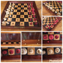 Jaques 'In Status Quo' travelling chess set - picture 10