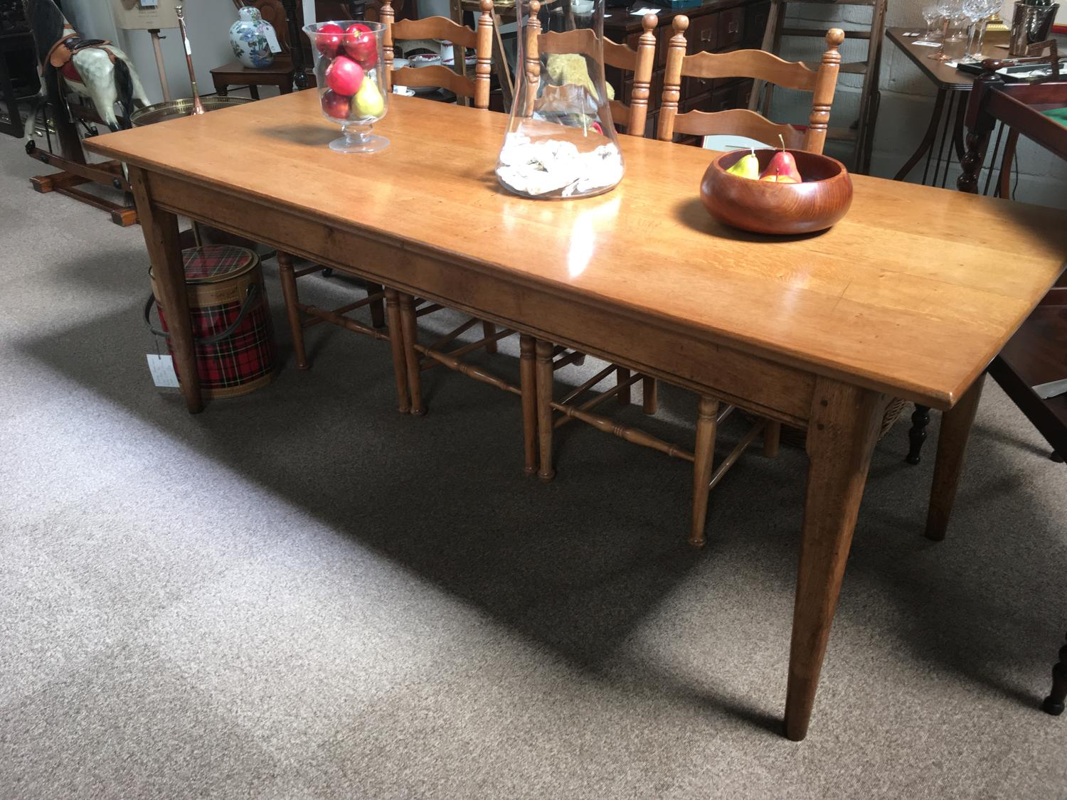 Cotswold School Oak Dining Table
