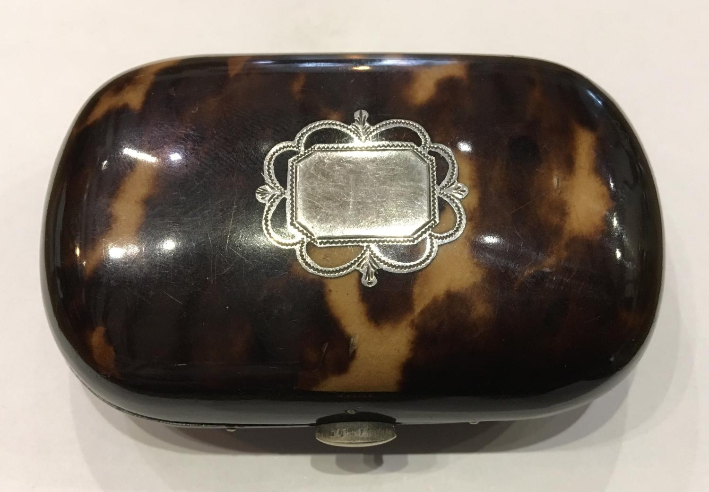 Tortoiseshell purse