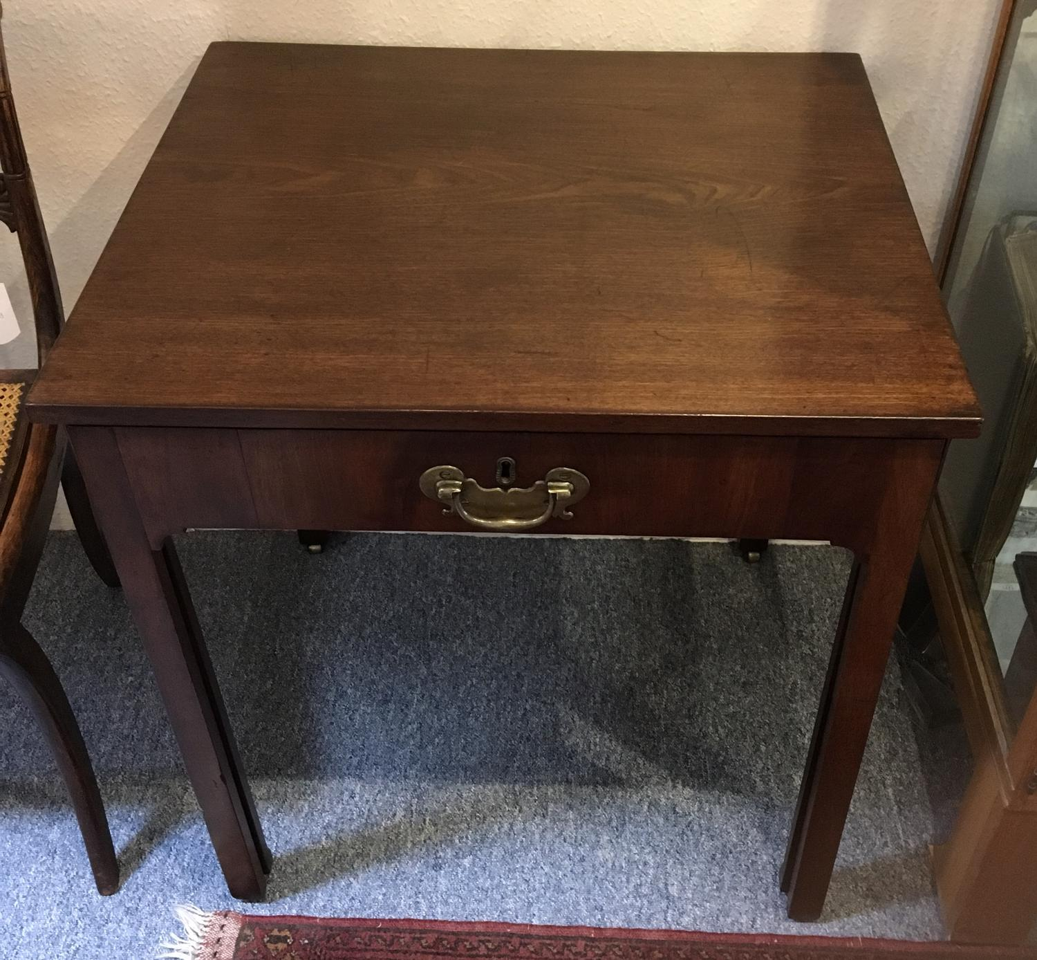 Early 19th Century mahogany architects table