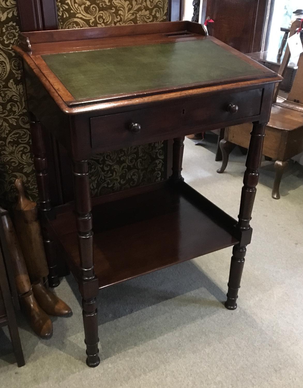 Mahogany Clerks Desk