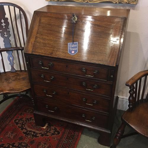 Mid 18th Century mahogany Bureau