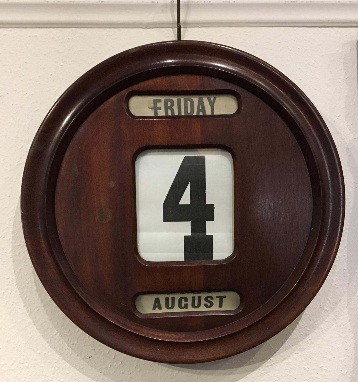 Victorian Perpetual Calendar