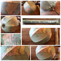 Rare Betts Portable Terrestrial Globe - picture 11