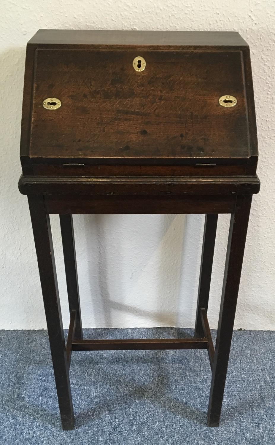 18th Century Oak Church Wardens Desk
