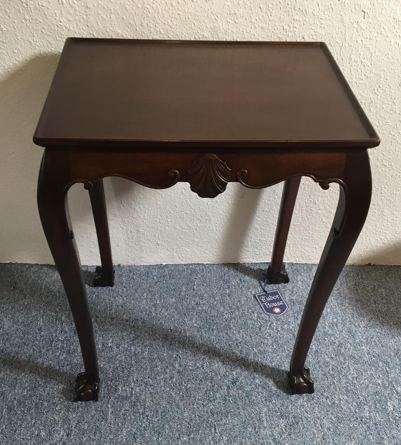 Mahogany 19th Century Silver Table of small proportions