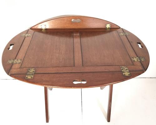 Mid 19th Century Mahogany Butlers Tray