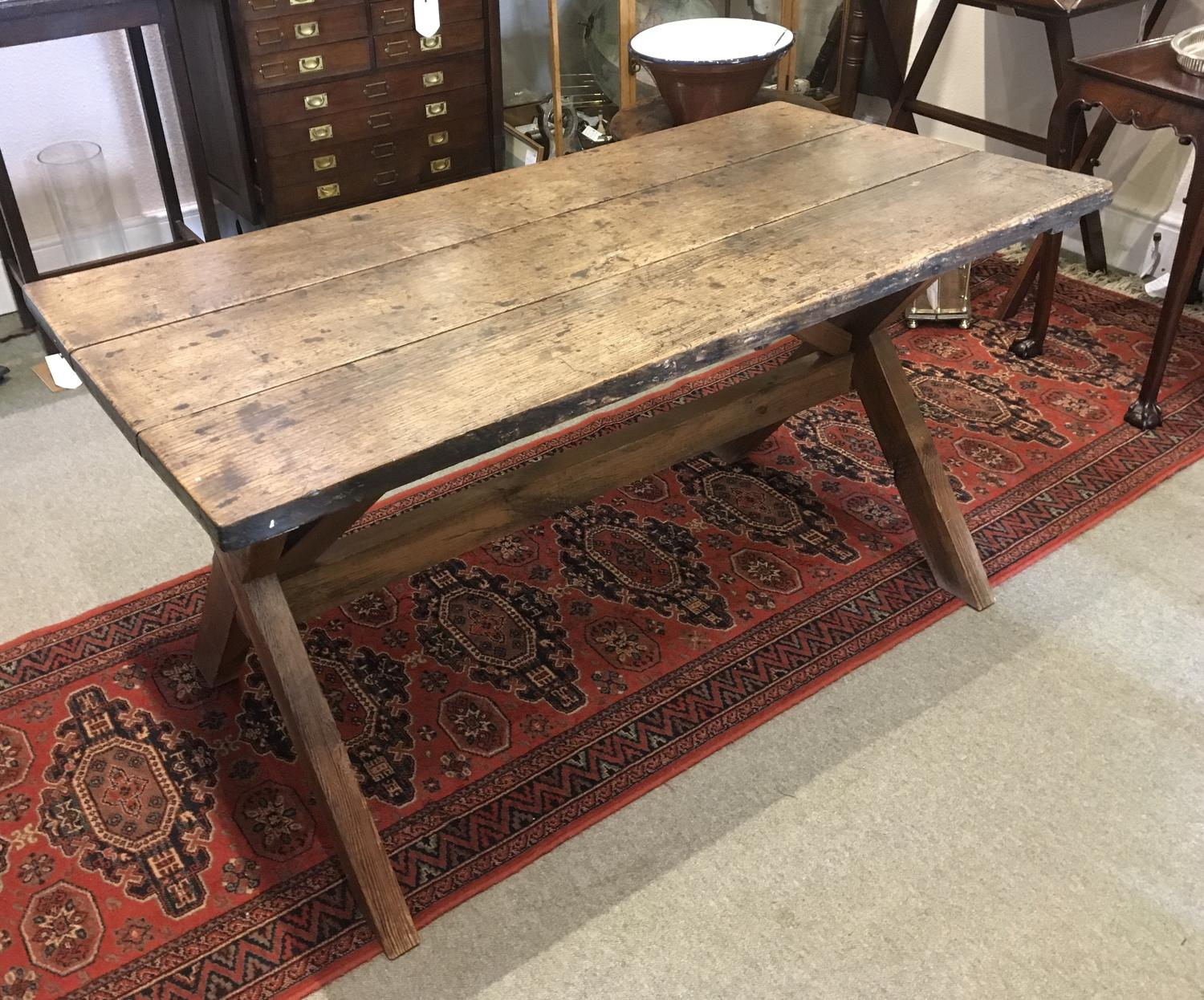 Antique Tavern Table