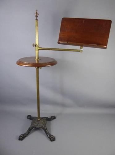 Telescopic music / reading stand