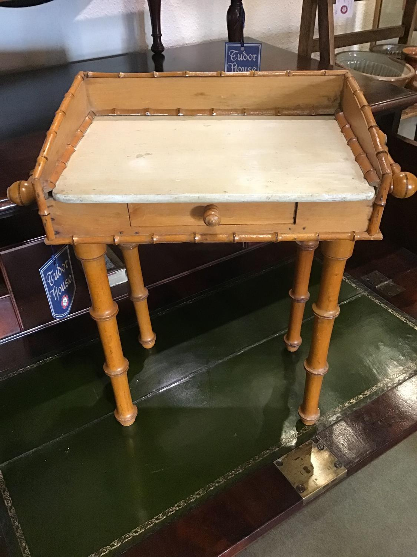 Apprentice piece Bamboo washstand