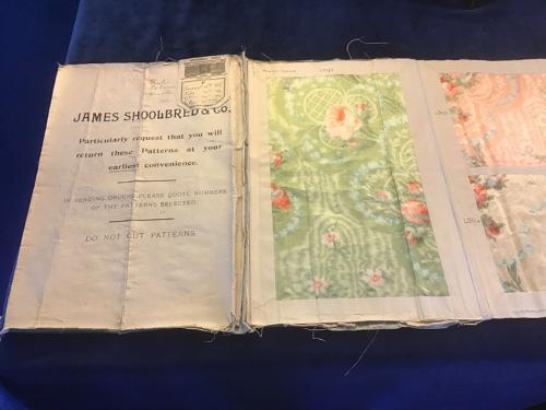 Rare James Shoolbred Fabric Sample Catalogue