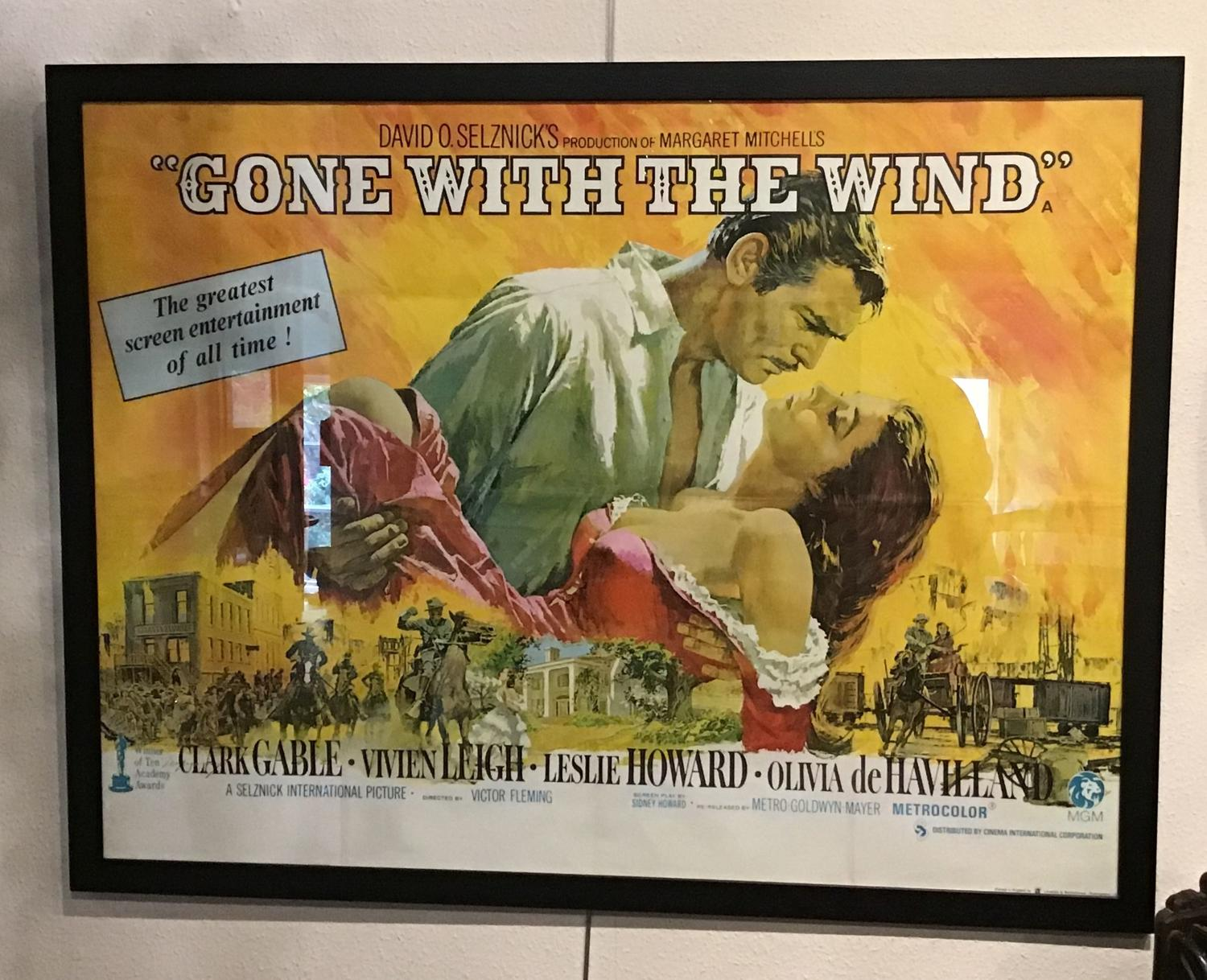 Gone with the Wind Cinema Poster