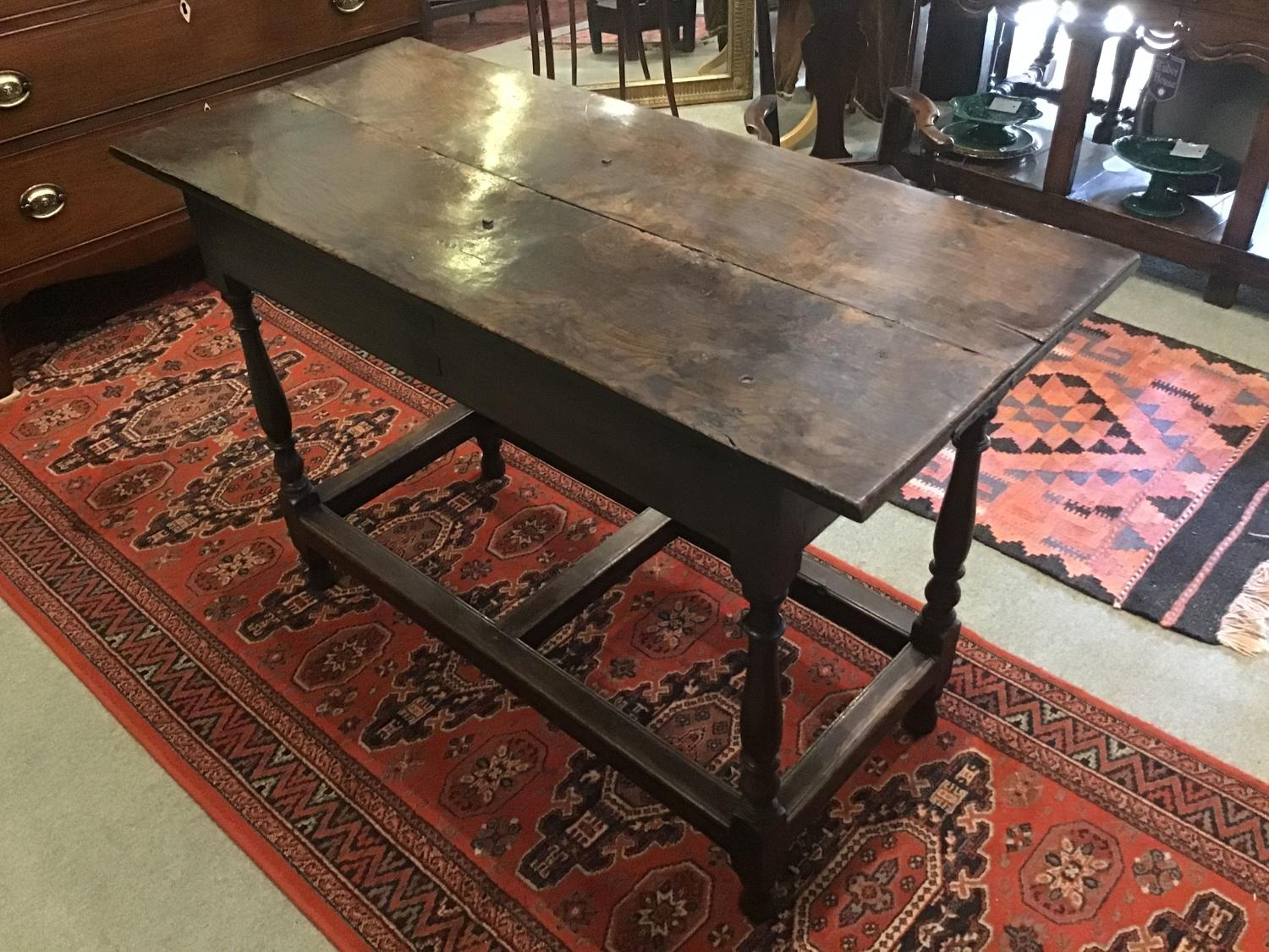 18th Century Oak Country Tavern Table