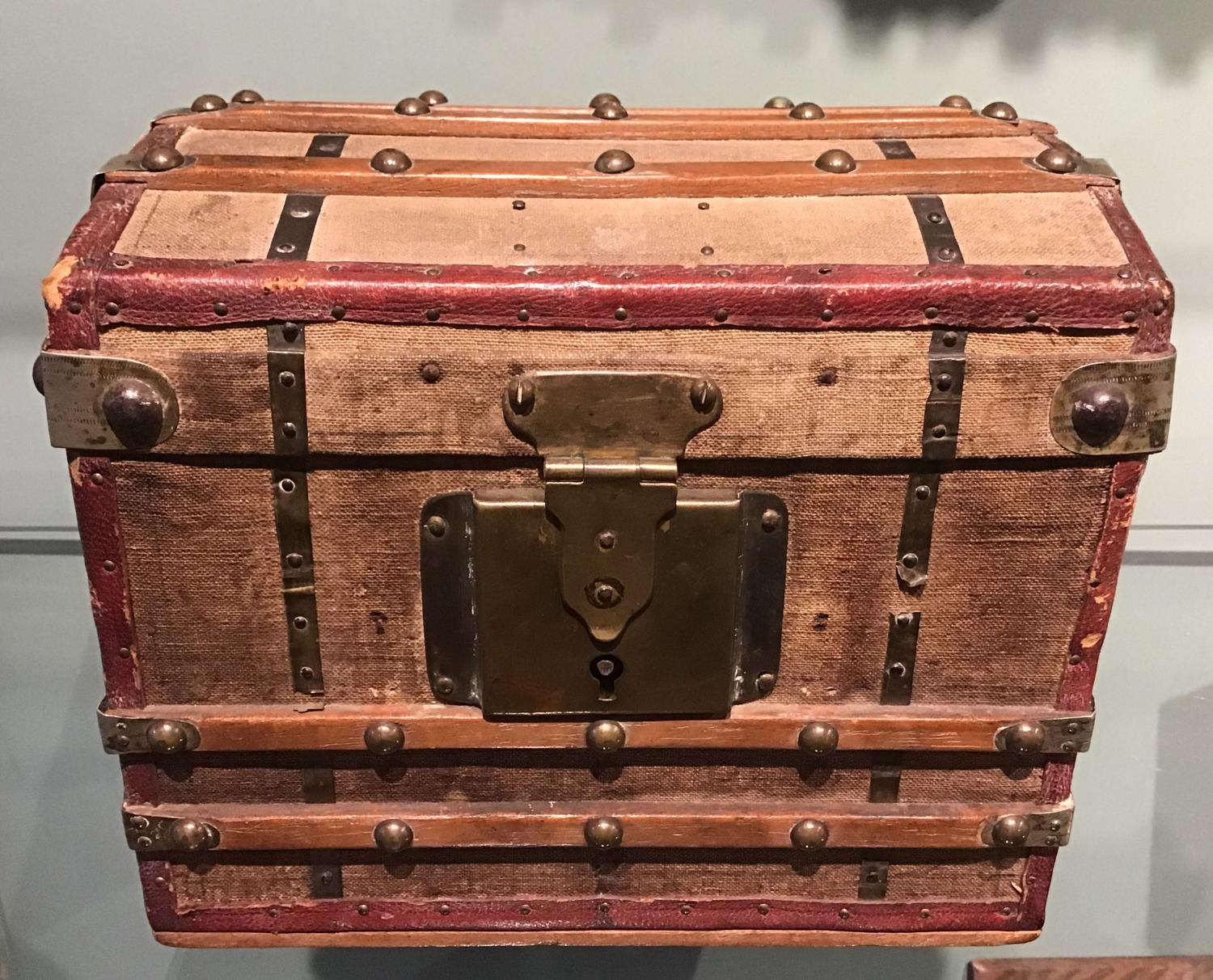 Miniature Steamer Trunk