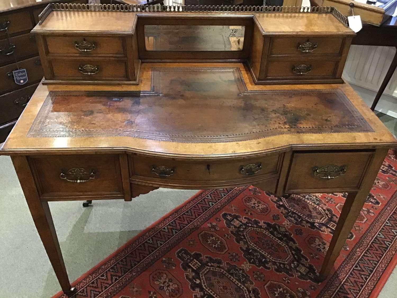 Ladies pollard oak writing desk
