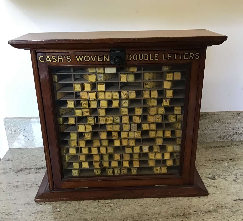 Cash's Haberdashery Shop Display Cabinet