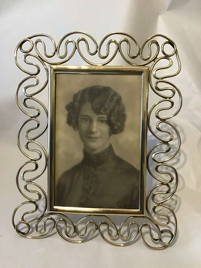 Victorian Brass Photograph Frame