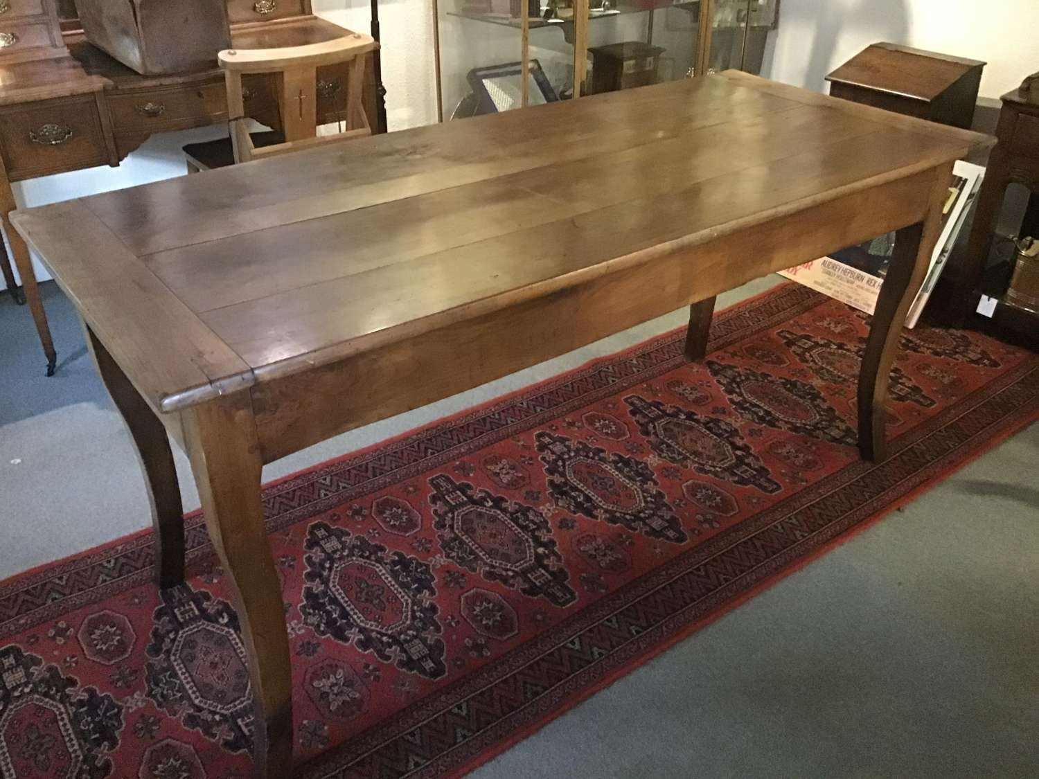 French fruitwood farmhouse table