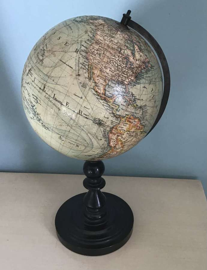 C19th German Table Globe
