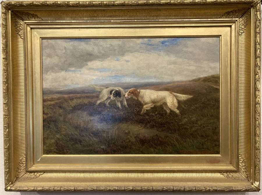 Victorian Oil painting by William Henderson